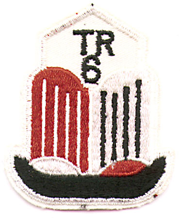 TRIUMPH 6 BADGE PATCH (J8)