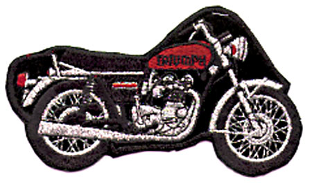 TRIUMPH BIKE PATCH (J9)