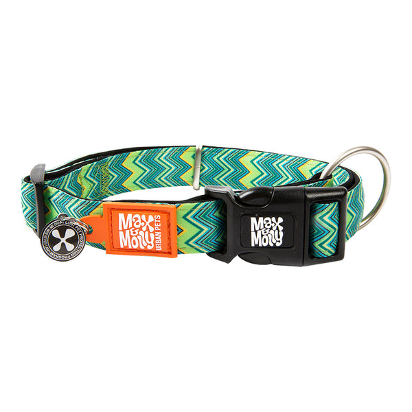 Max & Molly Smart ID Collar Vintage