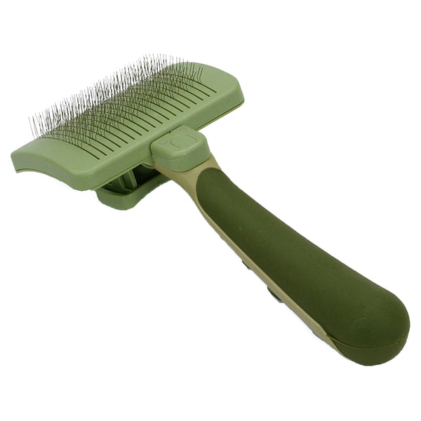 Self Cleaning Cat Slicker Brush