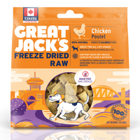 Great Jack's freeze-dried 100% Chicken