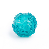 ZippyPaws ZippyTuff Squeaker Ball Toy Teal - The Raw Connoisseurs