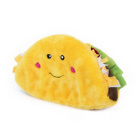 ZippyPaws NomNomz Squeaker Toy Jumbo Taco - The Raw Connoisseurs