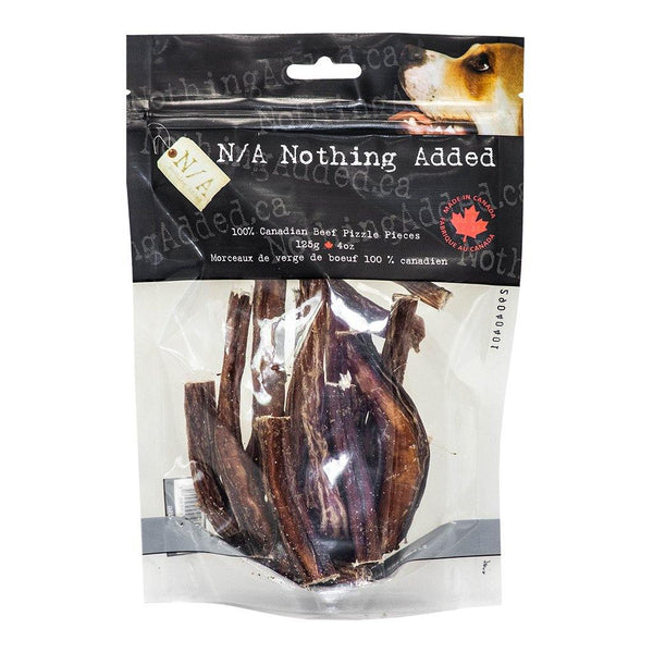 N/A NOTHING ADDED Beef Pizzle Pieces 125G - The Raw Connoisseurs