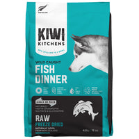Kiwi Kitchens RAW Freeze Dried Wild Caught White Fish Dinner 425gm - The Raw Connoisseurs