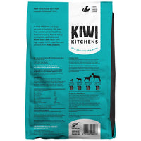 Kiwi Kitchens RAW Freeze Dried Wild Caught White Fish Dinner 425gm back - The Raw Connoisseurs
