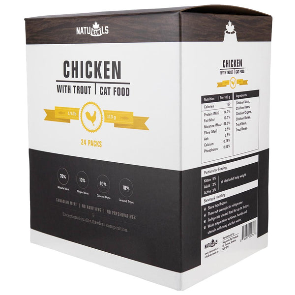 Naturawls Cat Chicken with Trout 6lb