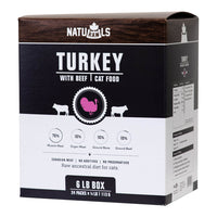 Naturawls Cat Turkey with Beef 6lb