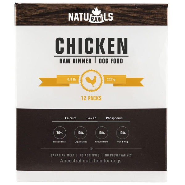 Naturawls Raw Chicken & Veggie (6lb) - The Raw Connoisseurs