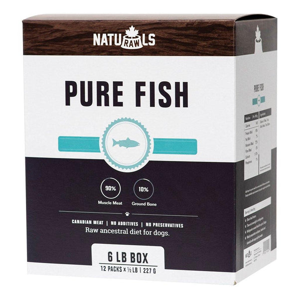 Naturawls Raw Pure Salmon & Trout (6lb) - The Raw Connoisseurs