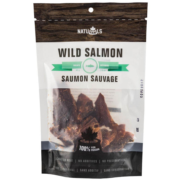 Naturawls Dehydrated Wild Salmon 80g - The Raw Connoisseurs