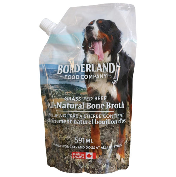 Borderland Pets Beef Bone Broth