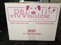 Beef w/ Veg - The Raw Connoisseurs