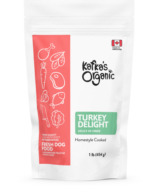 kafka's organic turkey dog food The Raw Connoisseurs