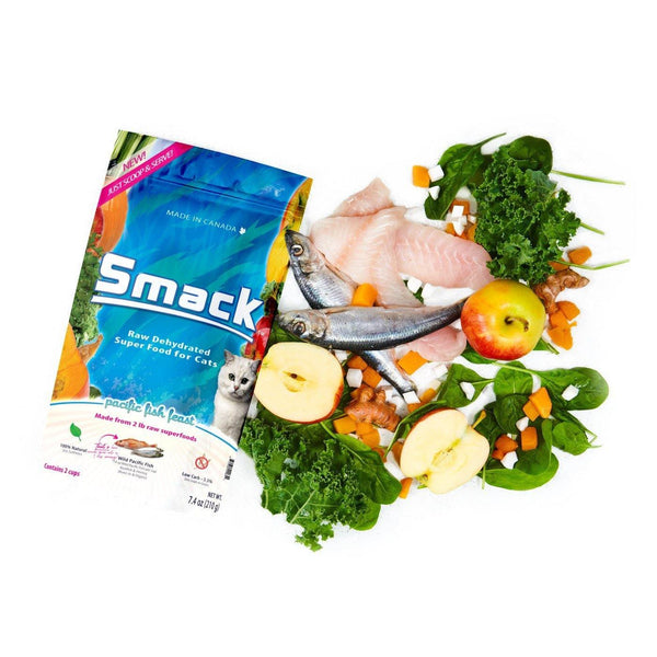 SMACK Pacific Fish Feast for Cats - The Raw Connoisseurs