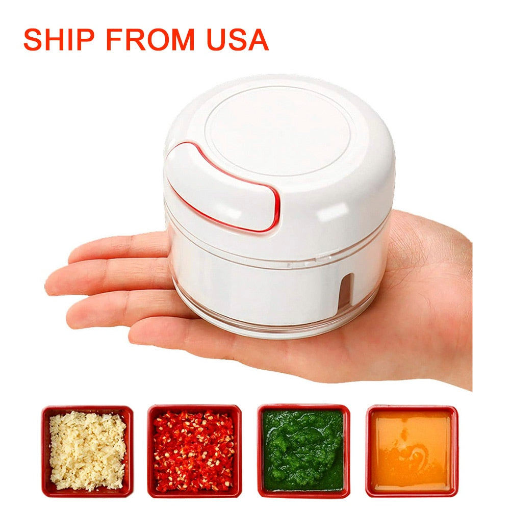 Mini Food Chopper / Garlic Press