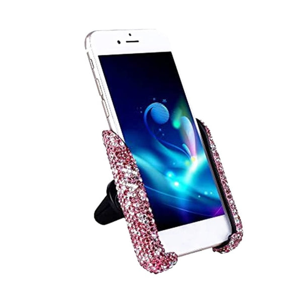 Mini Crystal Mobile Phone Stand