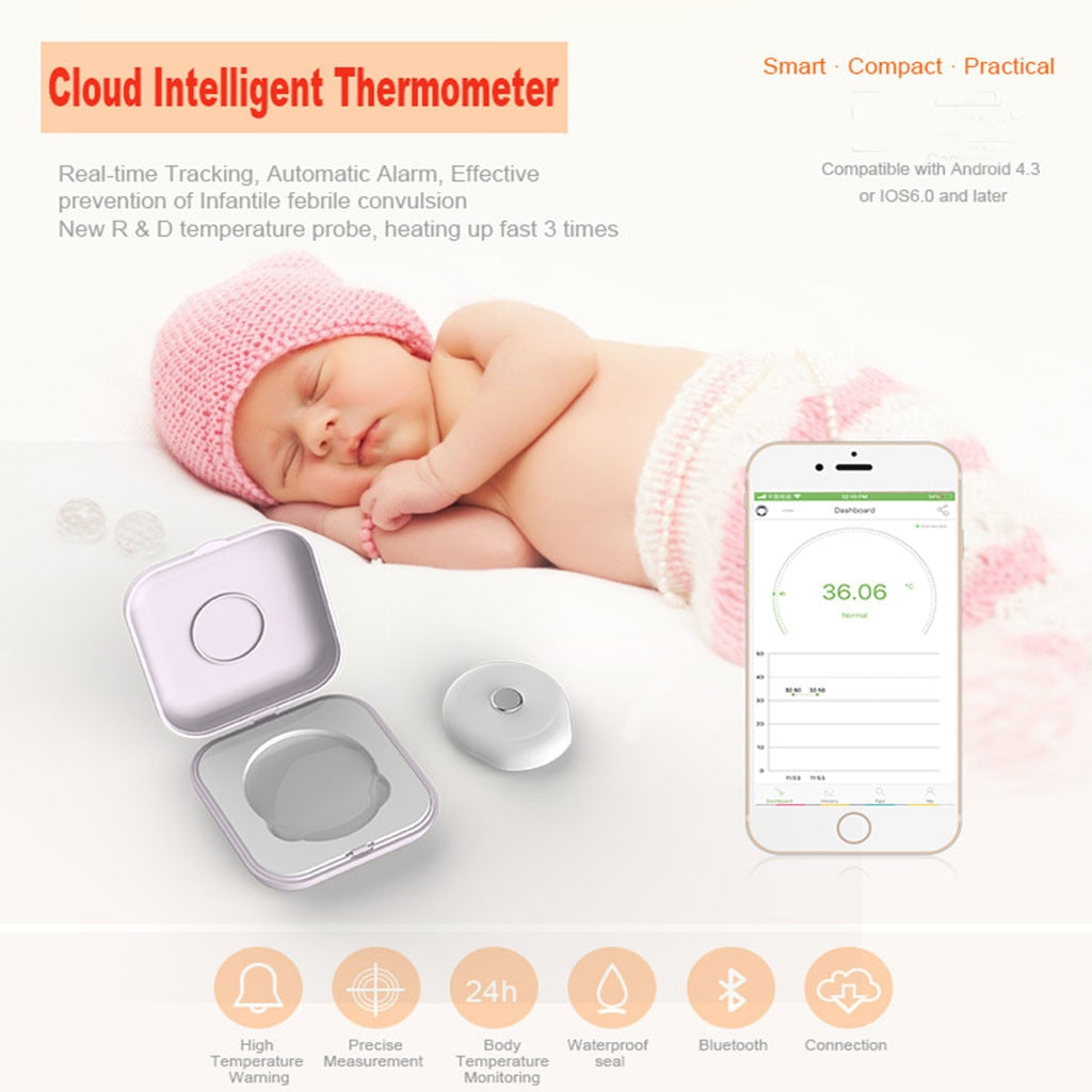 Bluetooth Body Thermometer