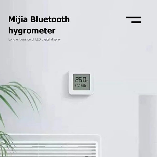 Bluetooth Temperature and Humidity Thermometer