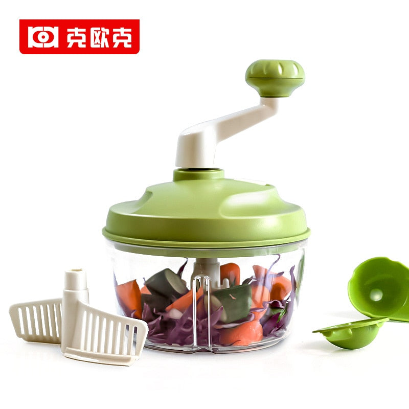4 in 1 Manual Food Processor