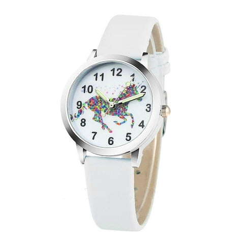 Watch Magic Unicorn White