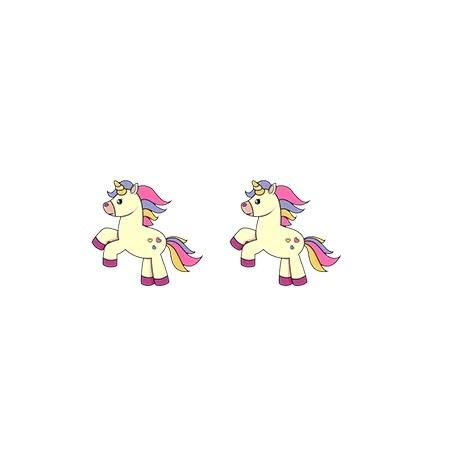 Earrings Unicorn Ears that Galope