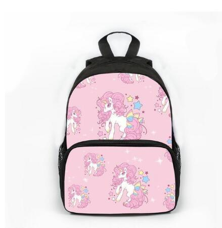 Unicorn Book Bag Kindergarten Girl