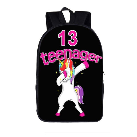 Satchel Unicorn Dab Teenager