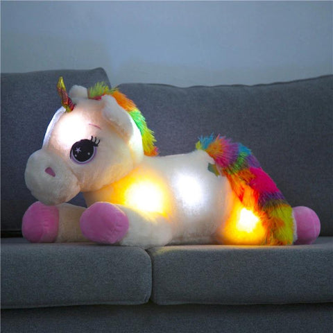 Bright Pink Unicorn Plush