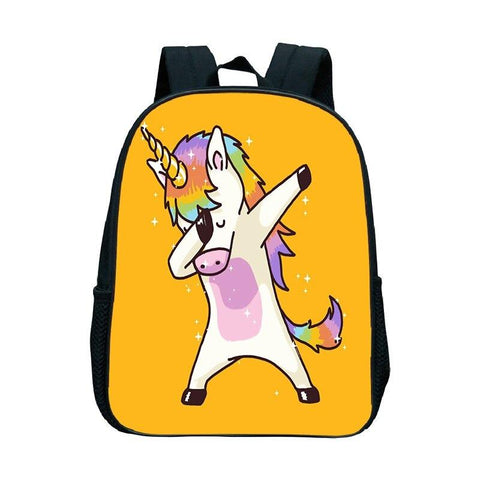 Satchel Yellow Unicorn Dab