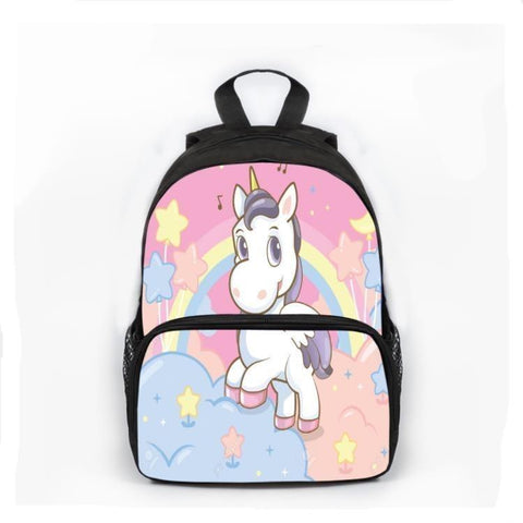 Satchel Unicorn Little Girl