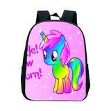 Unicorn Colored Satchel
