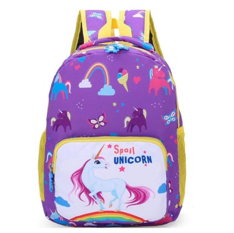 Satchel Purple Unicorn School