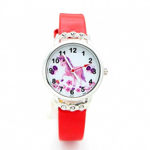 Watch Chic Red Unicorn