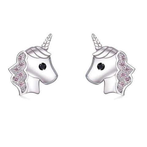 Earrings Unicorn Girl