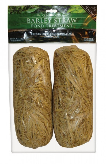 Summit 130 Clear-water Barley Straw Bales 2-Pack- 125 to 135