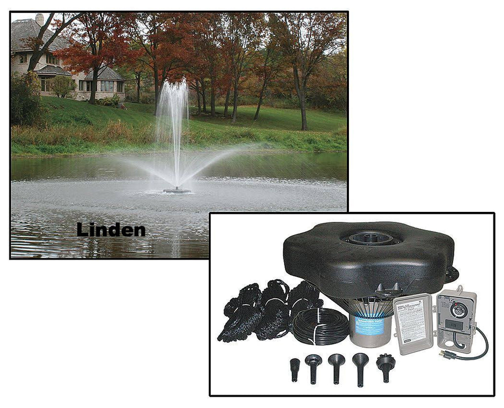 Kasco Marine 1 HP Decorative Fountain 4400JF050-4400HJF400