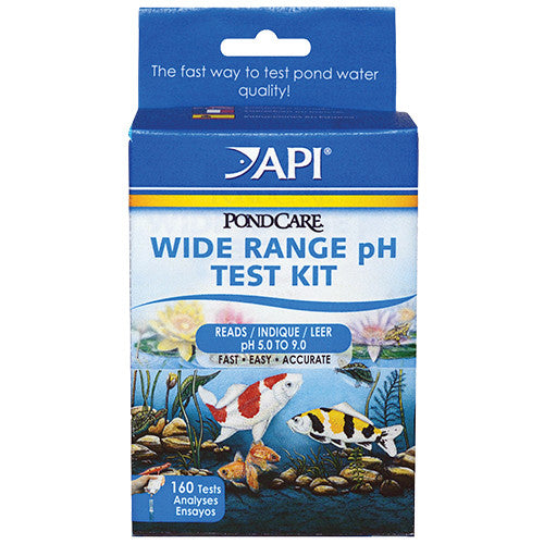 Pond Care Wide Range PH Test Kit 160