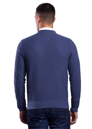 6th Sense Emperor Crew Neck-Indigo