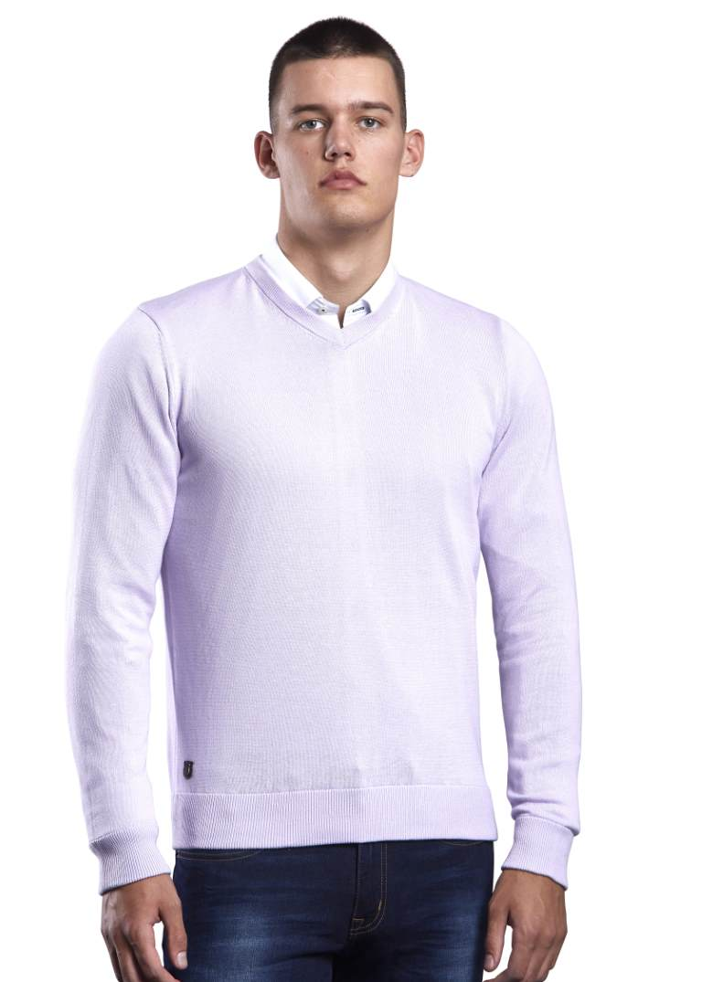 6th Sense Million Dollar V-Neck-Lilac