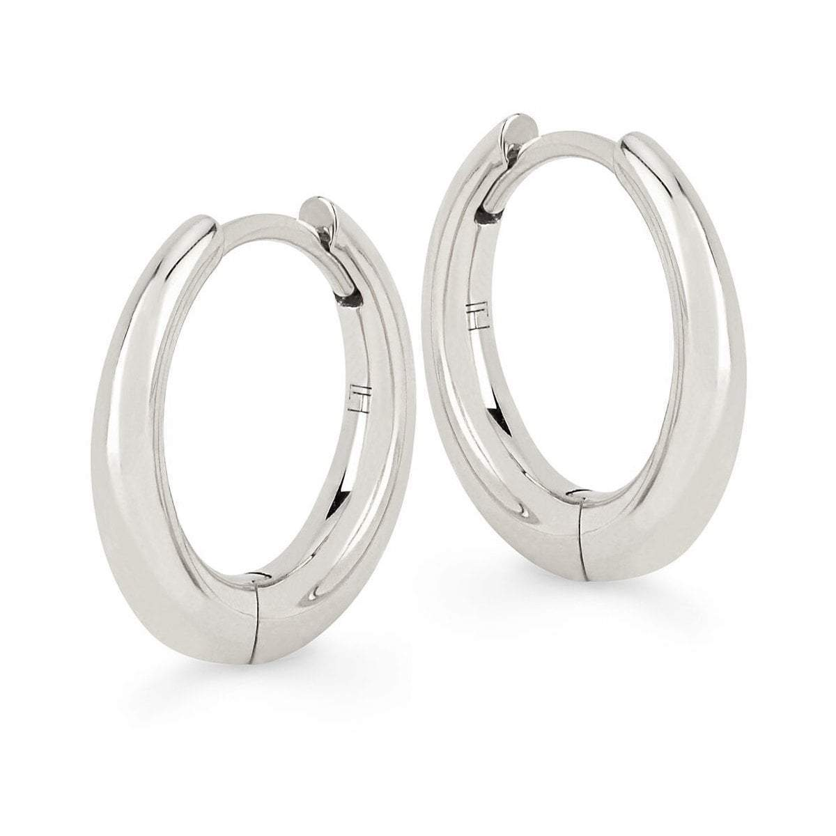 NEW! Large Solid Crescent Unity Hoops