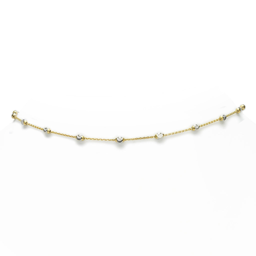 Mooncut Choker Yellow Gold