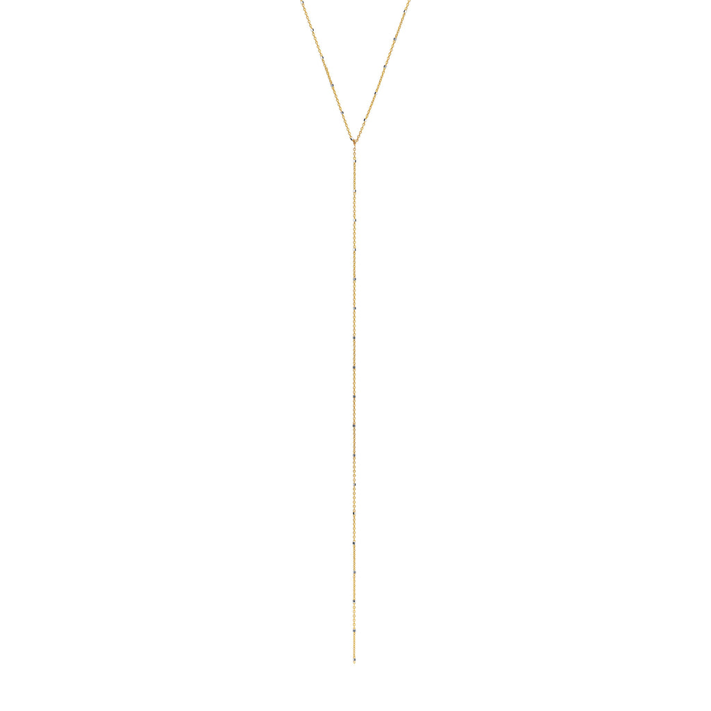 Twinkle Lariat Yellow Gold