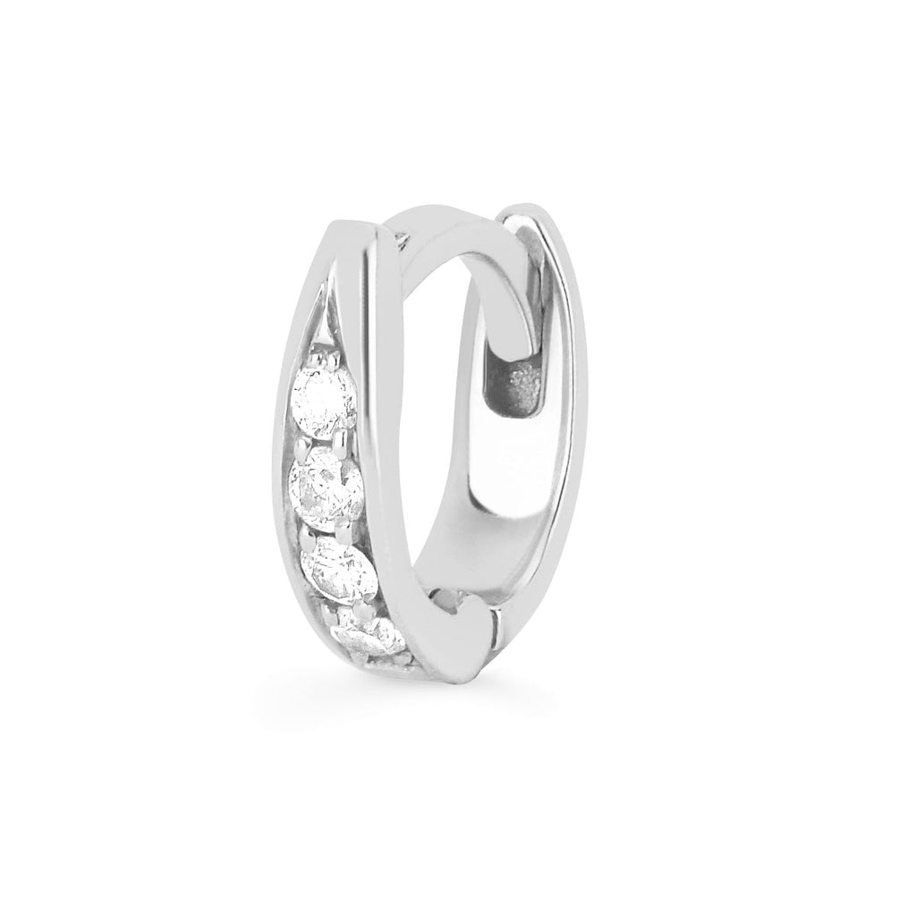 Pavé Diamond Tusk Huggies Pavé Diamond Tusk Huggies