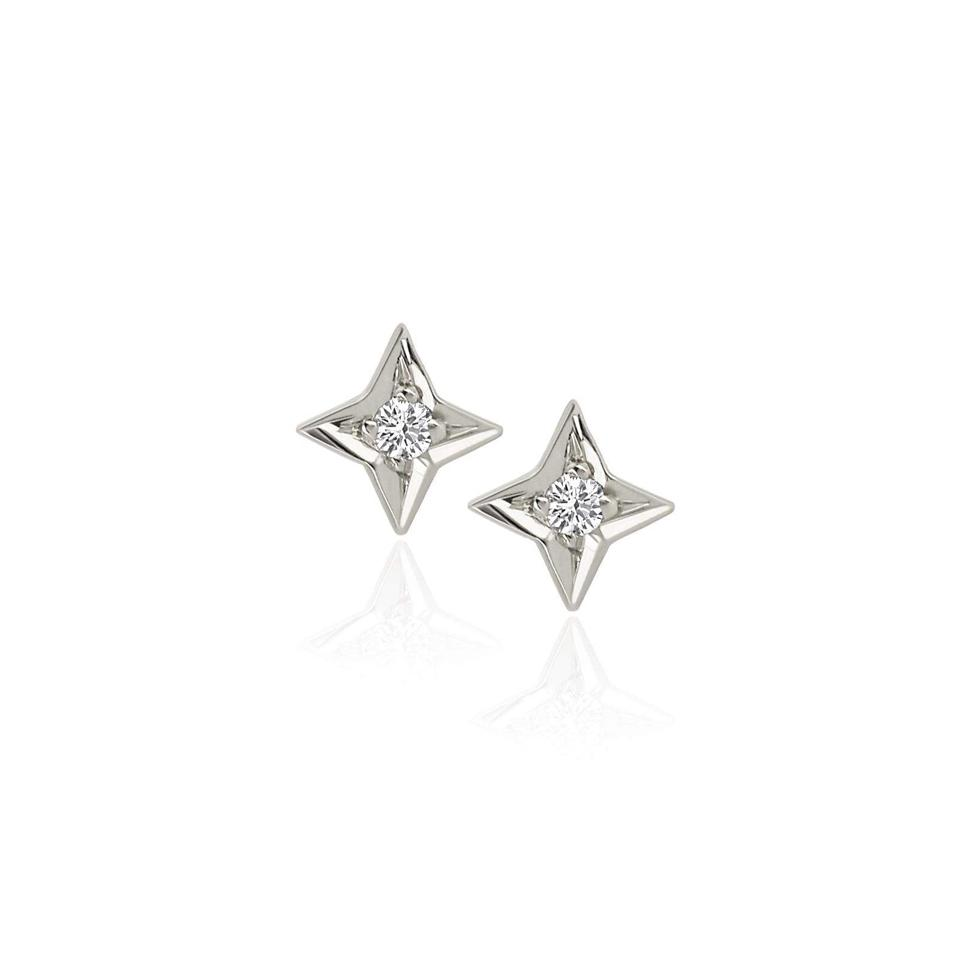 Four Point Star Studs