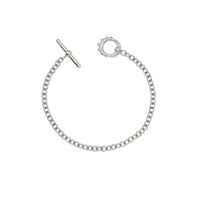 Alchemy Chain Bracelet with Diamond Unity Toggle Alchemy Chain Bracelet with Diamond Unity Toggle