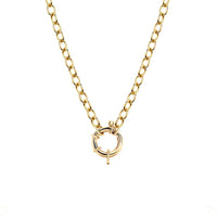 NEW! Alchemy Chain Necklace with Hoop Closure NEW! Alchemy Chain Necklace with Hoop Closure