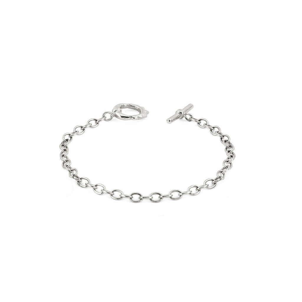 Alchemy Chain Bracelet with Solid Unity Toggle Alchemy Chain Bracelet with Solid Unity Toggle