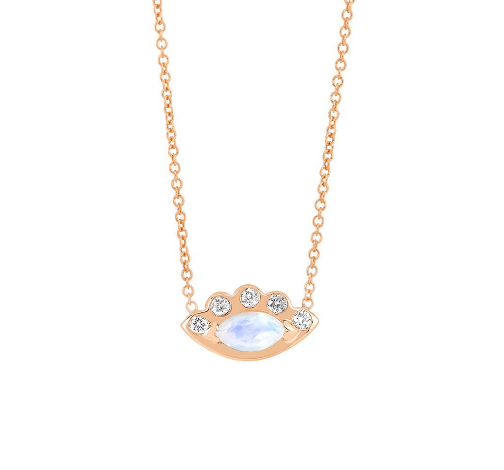 Angel Eye Moonstone Necklace Angel Eye Moonstone Necklace