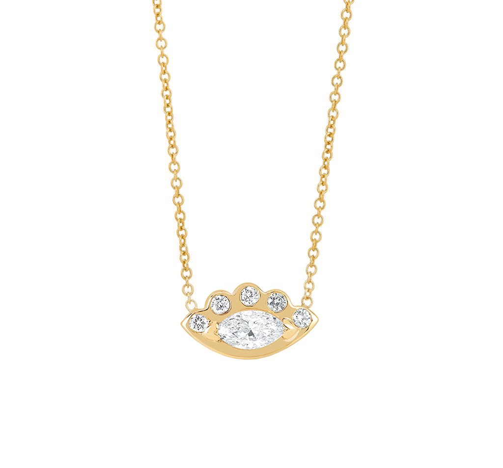 Angel Eye Diamond Necklace